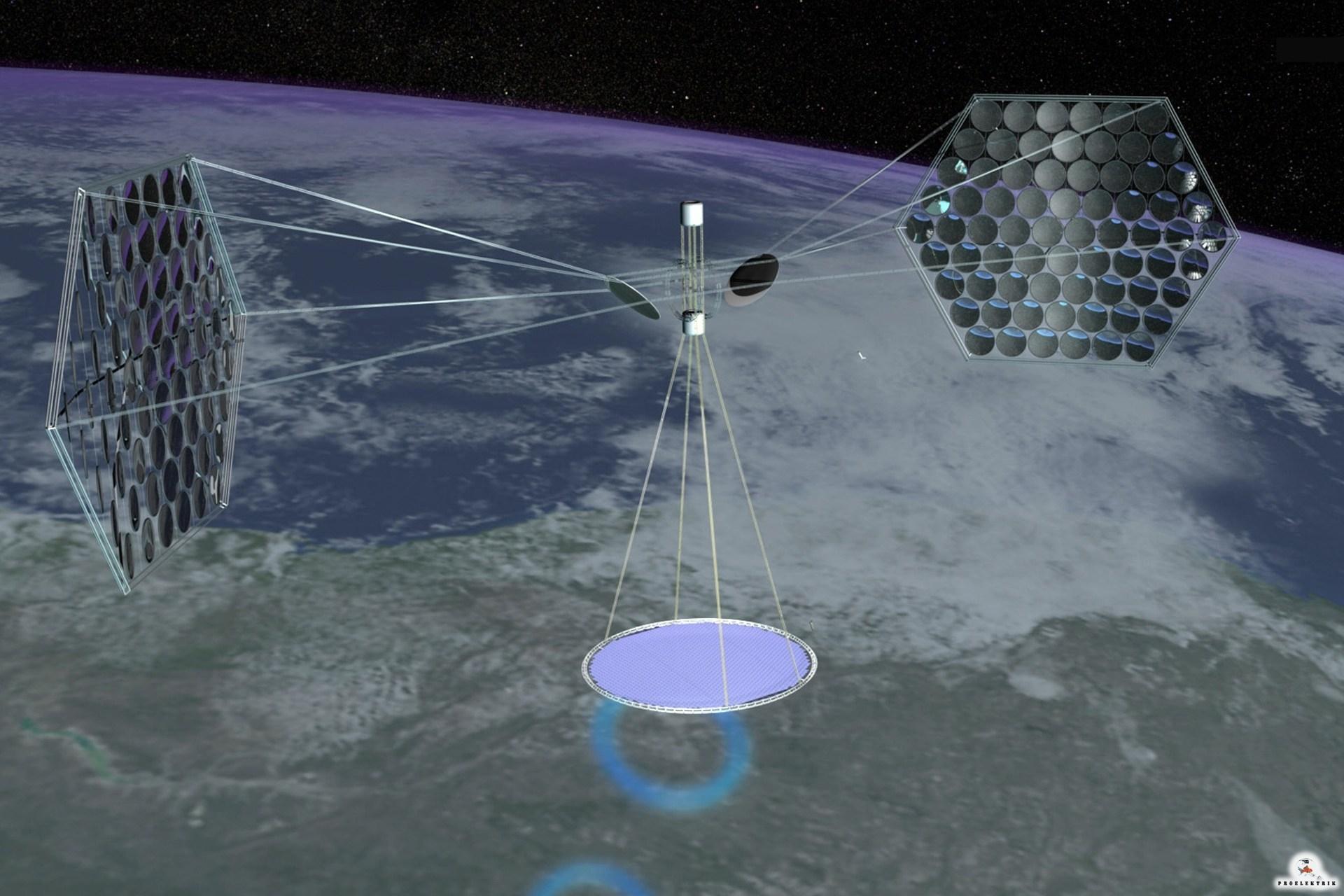 Солнечная энергия из космоса
